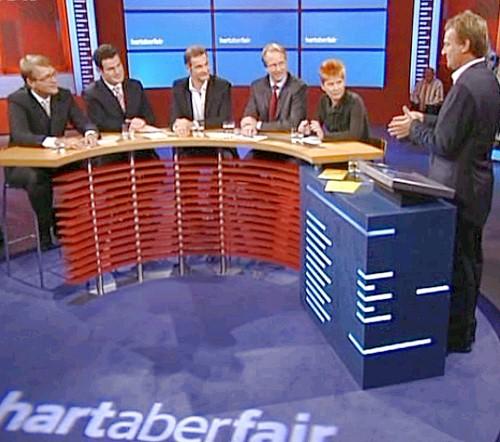 """war die WDR-Talkshow """"hart aber fair"""" überschrieben."""